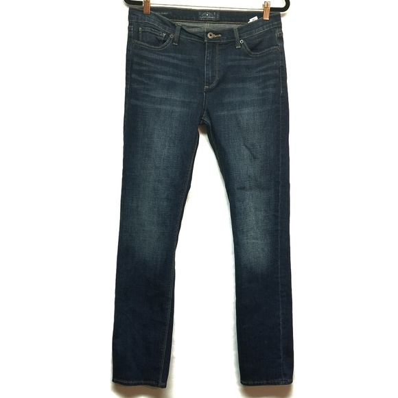 Lucky Brand Denim - Lucky Brand Brooke Straight Dark Wash Jeans